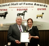 Noel Brady Hall of Fame Winner 2014