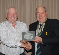 Past President Andy O Donoghue