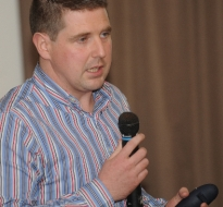 Guest Speaker, Stephen Conway ICBF